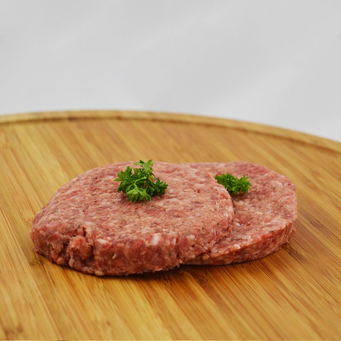 Cheese Beef Burgers 120g